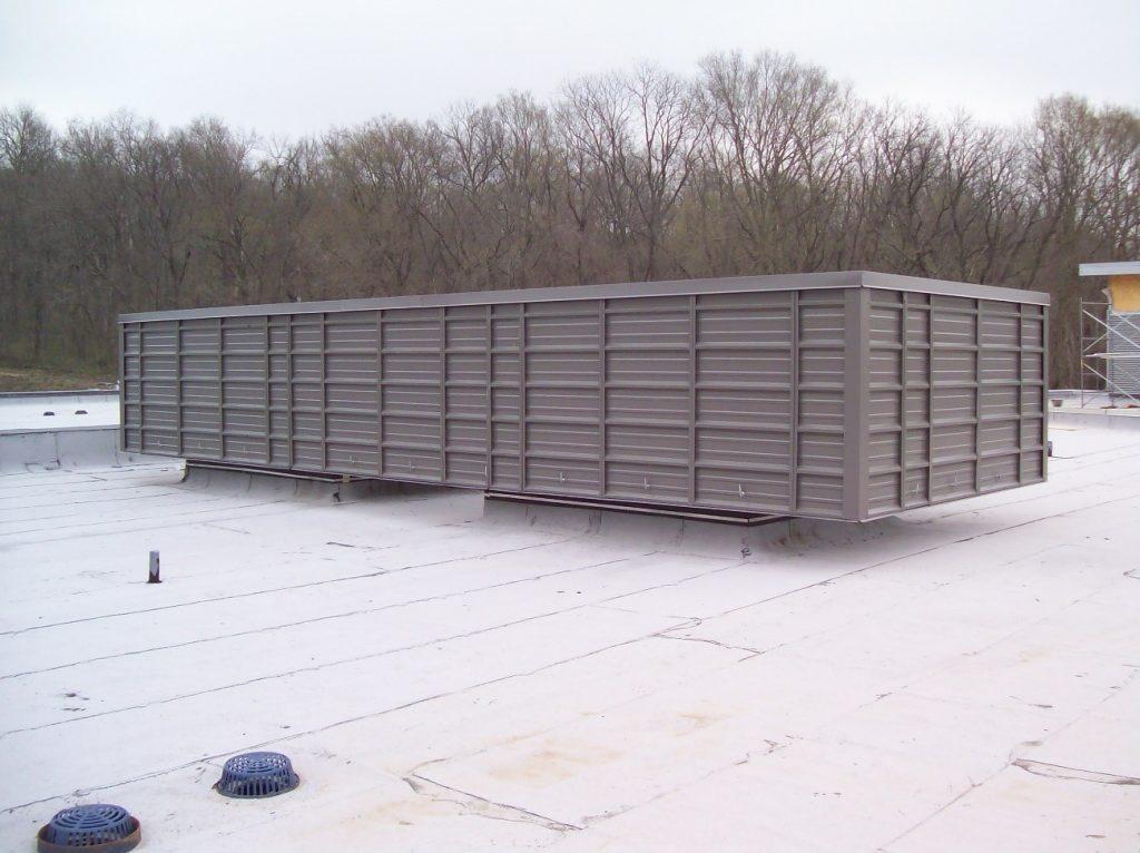 Hvac Screening Rooftop Screening Code Compliant Cme